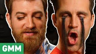 Testing Magnetic Eyelashes