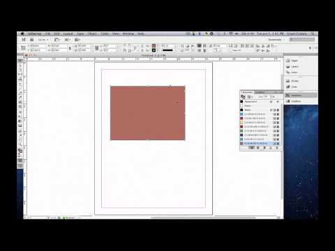 How to use the Color, Swatches, and Gradient Panel in Adobe™ InDesign™