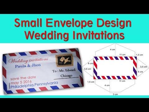 CorelDraw Tutorial - How to Make a Wedding Invitation Design Small Envelope Part 2