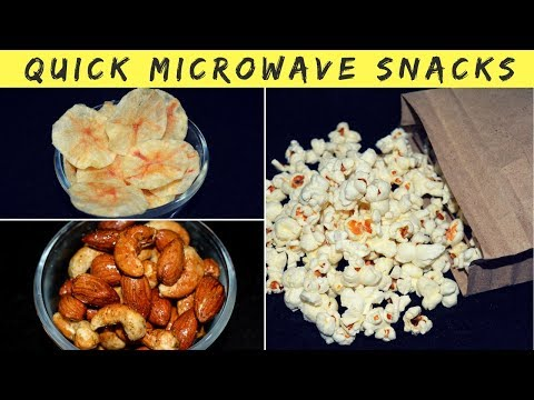 Quick Microwave Snacks | Easy Microwave Recipes | Microwave Recipes in Hindi | Urban Rasoi