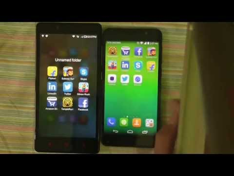Honor 6 vs Redmi Note 4G - Speed and App Opening Test