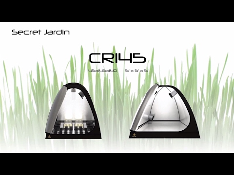 How to set up Secret Jardin grow tent CR145 | Product Tutorial