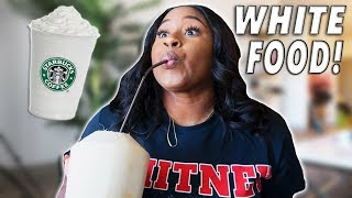 Download I ONLY ATE WHITE FOOD FOR 24 HOUR CHALLENGE Video