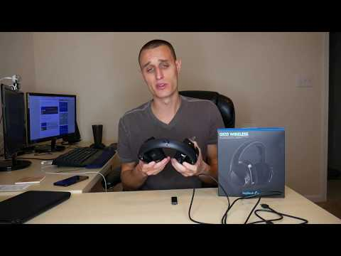 Logitech G533 Mic Test and Review