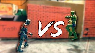 Ant-Man VS Jackal Stop Motion (Prequel from Civil war part 4)