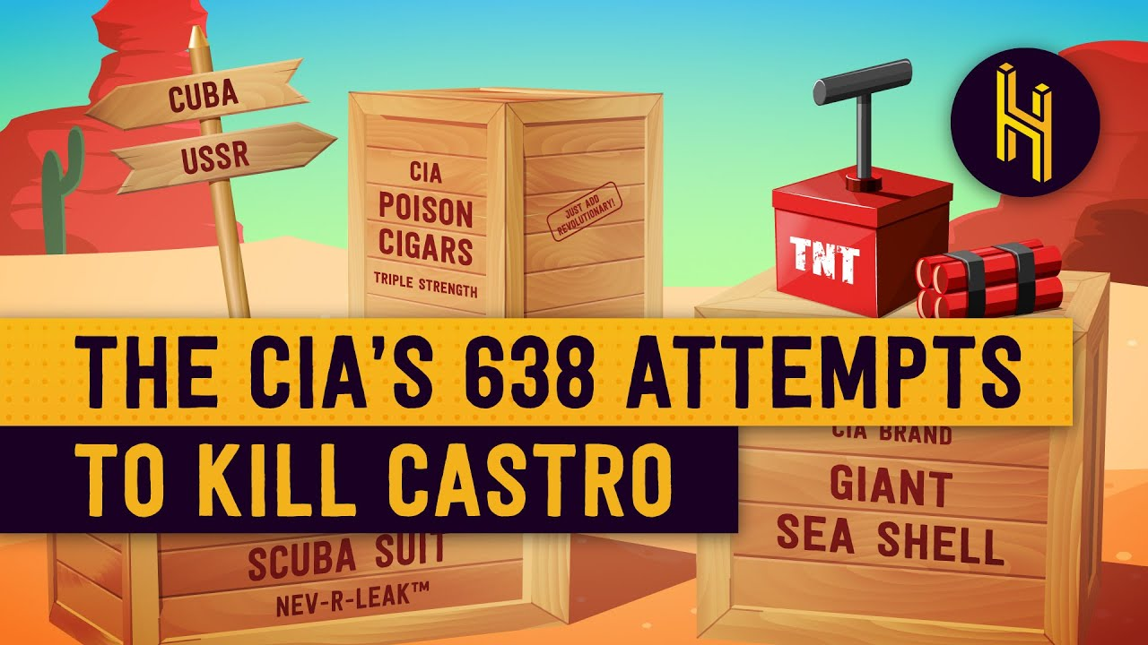 The CIA's 638 Attempts to Assassinate Castro