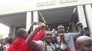 UZ Student leaders address protesting students [A MUST WATCH]