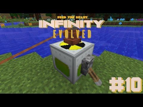 FTB: Infinity Evolved #10| Nuclear Reactor! - Modded Minecraft