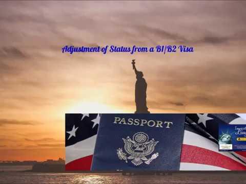 Adjustment of Status from B1/B2 Visa