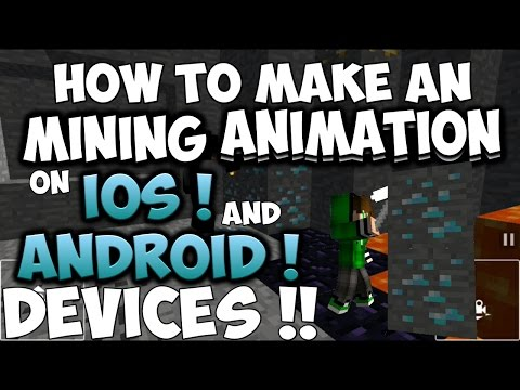 ✔How to Make Minecraft Animations on Android or iOS Devices !