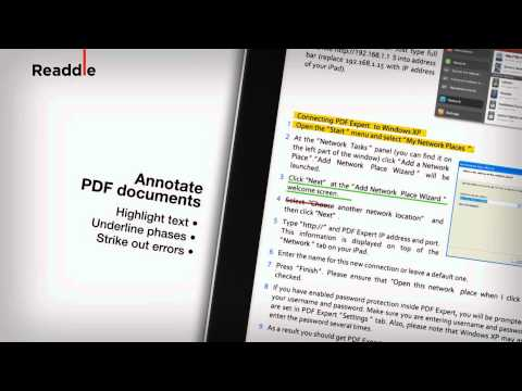 PDF Expert for iPad