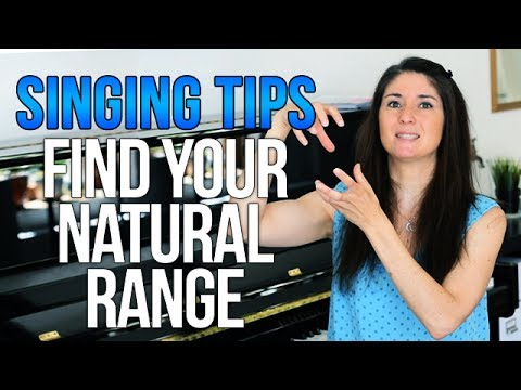 How to Find Your NATURAL Range in Your Voice