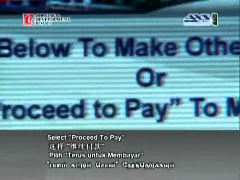 Make Payment using AXS (Parking Fines)