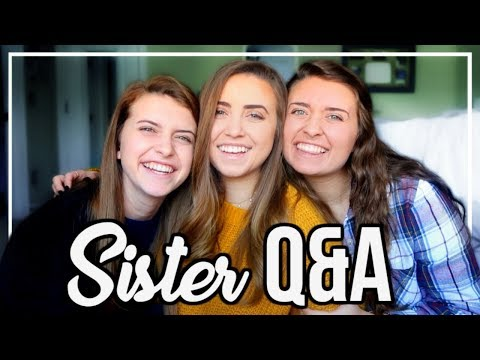 ANSWERING EMBARRASSING QUESTIONS | Sister Q&A
