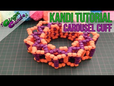 Carousel Cuff - [Kandi Tutorial] | @GingerCandE