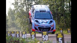 WRC Neste Rally Finland 2017 || Max Attack, Drift, Jumps, Crashs