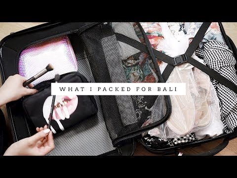 Traveling to Bali | What I Packed + Tips