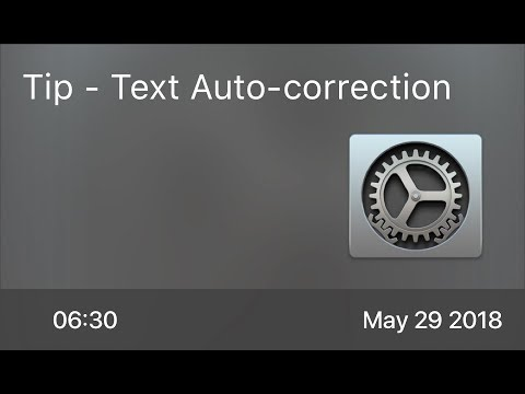 SCOM0738 - Tip - Text Auto-correction