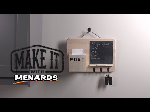 Mail Center - Make It With Menards