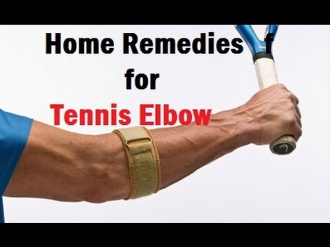 Home Remedies for Tennis Elbow | Elbow Pain Treatment