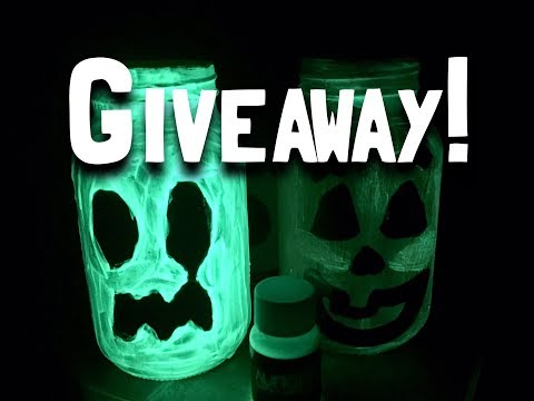 Glow In The Dark DIY and Paint GIVEAWAY!