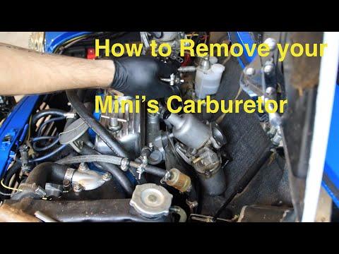 Classic Mini DIY - Carburetor Removal