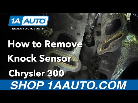How to Replace Install Knock Sensor 2006 Chrysler 300 Buy Quality Auto Parts at 1AAuto.com