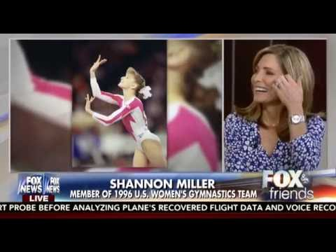 Shannon Miller Joins Fox and Friends