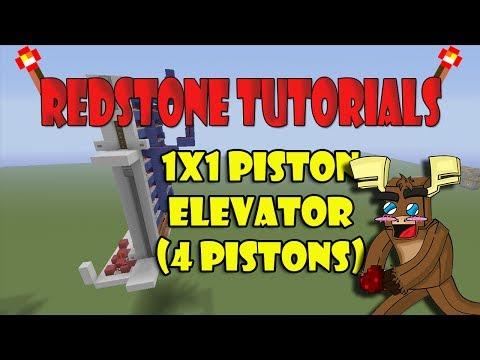 1x1 Piston Elevator Up/Down