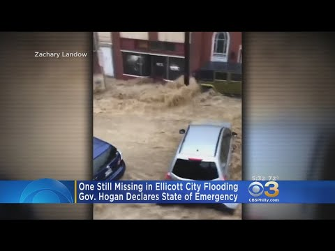 One Person Still Missing After Maryland Flash Flooding