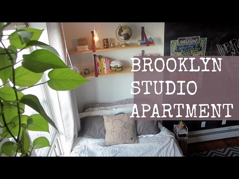 STUDIO APARTMENT TOUR // Brooklyn, NY