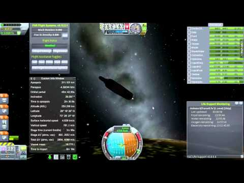 Kerbal Space Program (0.23.5) - Realism Overhaul 027 - Earth Orbit Rendezvous