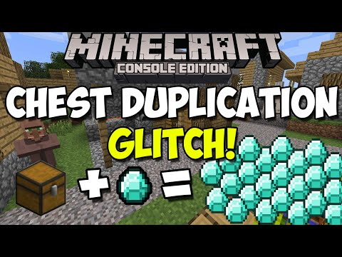 Minecraft Xbox One & PS4: [Chest] How to Duplicate Items with a Chest! | Chest Duplication Glitch!