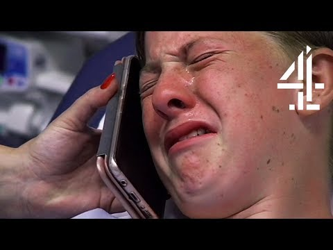 Xxx Mp4 16 Year Old Says Goodbye To Family Before Brain Surgery Heart Wrenching Moment 24 Hours In A Amp E 3gp Sex