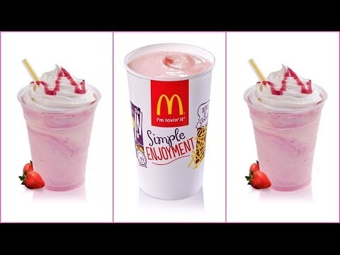 DIY: McDonald's Strawberry Milkshake Recipe!