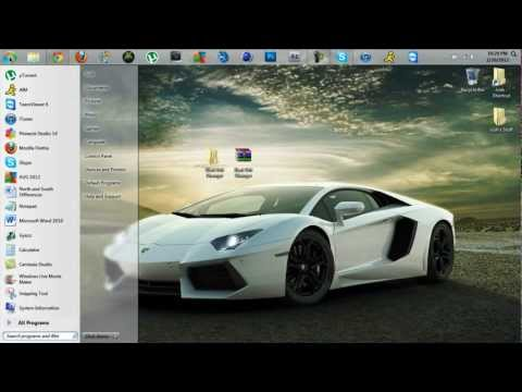 How to Change the Windows 7 Start Button