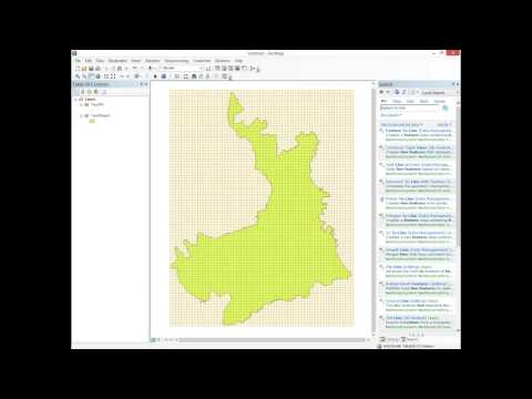 Finding Latitude and Longitude of Points on a Map Using ArcMap
