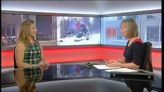 Athlete Struggles with Retirement, BBC Midlands Today