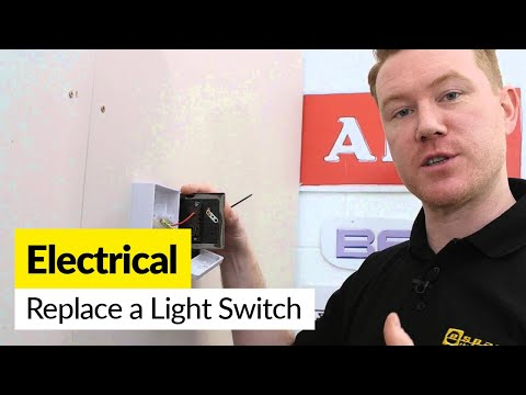 How to Replace an Electric Light Switch