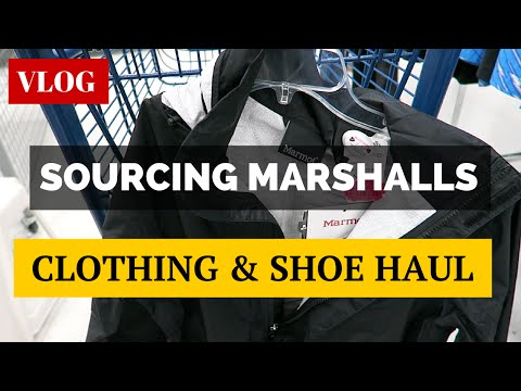 Sourcing Marshalls, Clothing & Shoes HAUL, Camera Score! | A Day In The Life 003