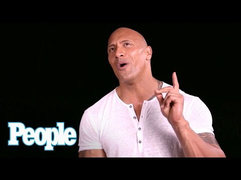 Dwayne 'The Rock' Johnson's Celebrity Crushes | SMA 2016 | People