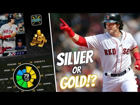 SILVER TO GOLD ROSTER UPDATE PREDICTIONS! BENINTENDI TO GOLD? MLB THE SHOW 18 DIAMOND DYNASTY