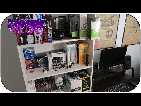 I KEEP SPENDING MONEY! New Desk & PC Part Storage