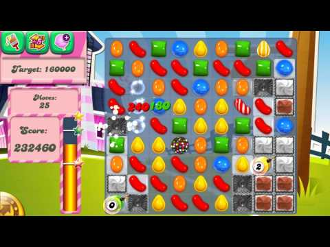 Candy Crush Saga Level 235 No Boosters