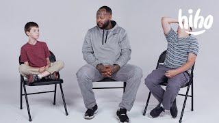 Kids Meet Guys with Felonies | Kids Meet | HiHo Kids