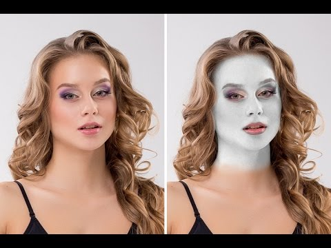 How to create White Skin in Photoshop