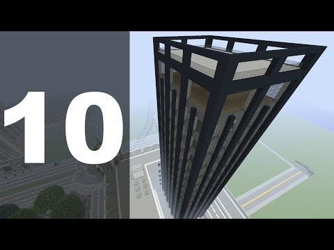 Minecraft Let's Build : 70's Style Skyscraper - Part 10 (FINALE!)