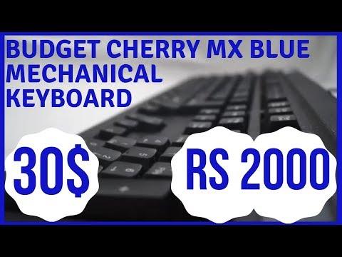 BEST 30$ Cherry MX Blue Mechanical Keyboard (TVSe Bharat Gold)