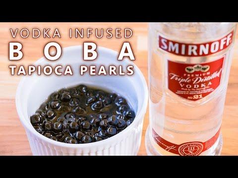 How to Make Vodka Infused Boba Tapioca Pearls
