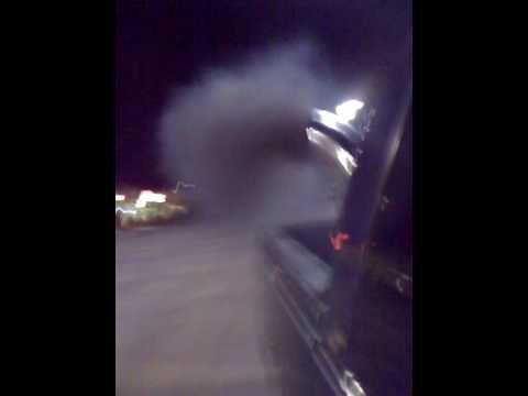 My 6.5 diesel blowing a little black smoke.